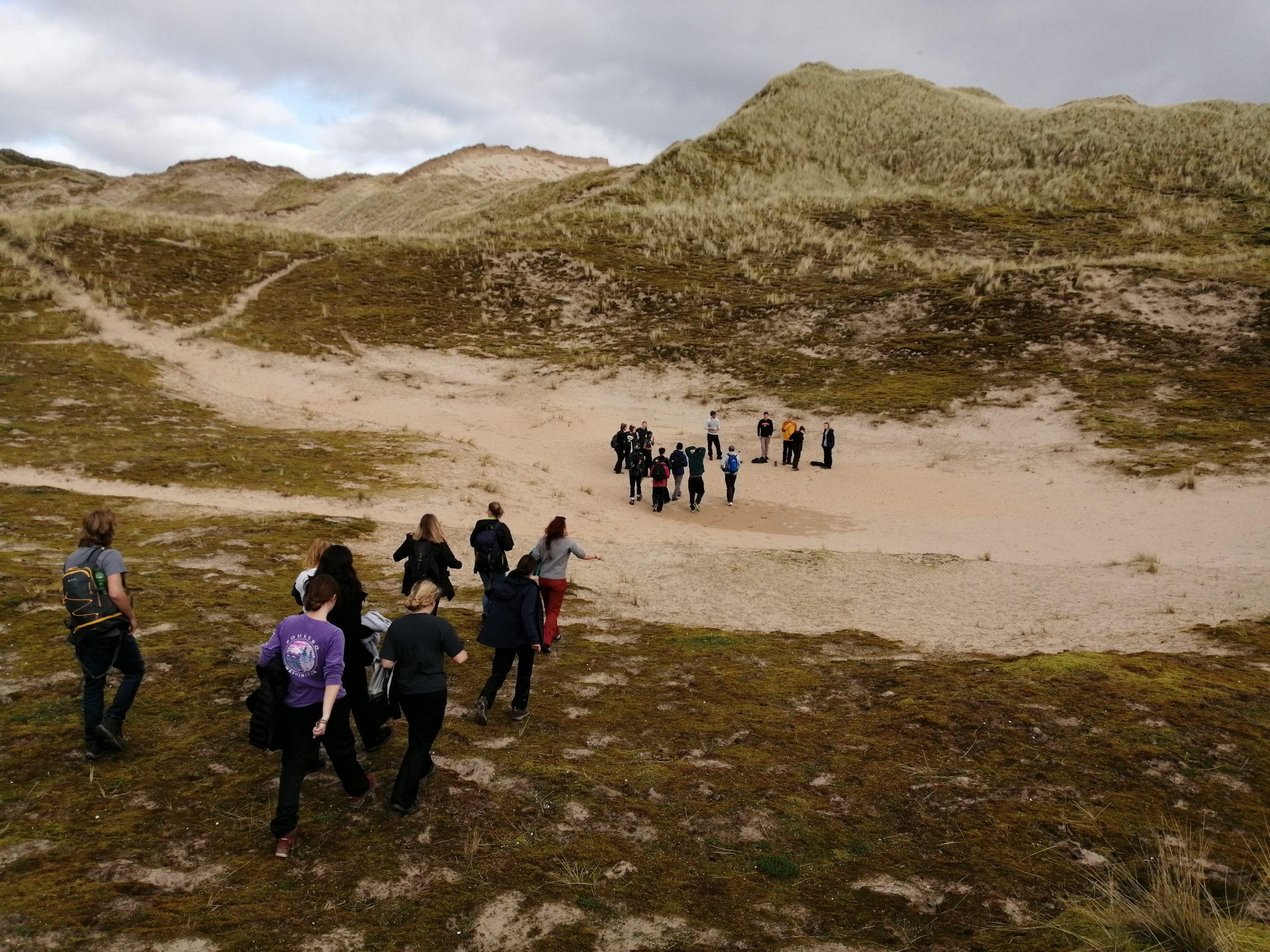 Adventure Combined Team Game in Dunes