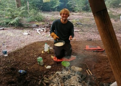 Alex Campfire Cooking