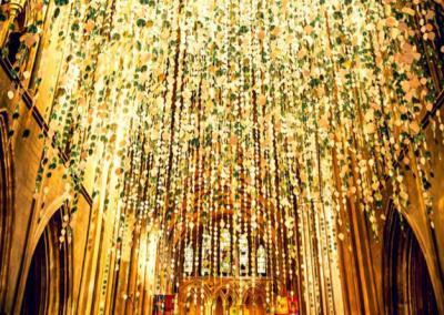 Elaborate Gold Church