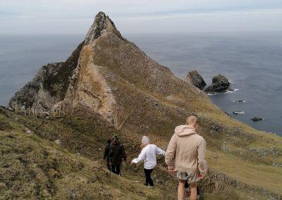 Hike to Sea Stack