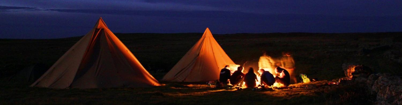 Tipi Camp Pano
