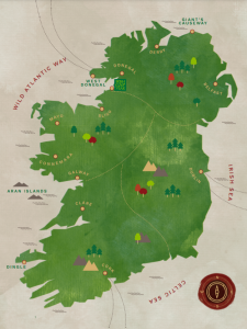 Adventure and Leadership Map