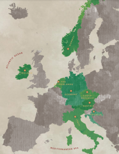 European Expedition Map