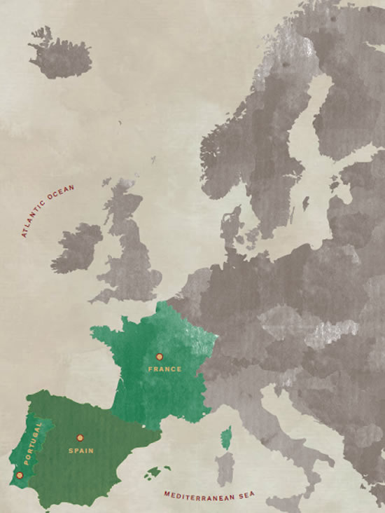 European Arts and Culture Map