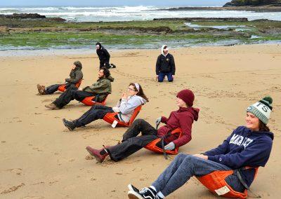 Leadership Workshop Beach